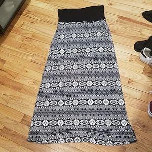 Like new Aztec boho skirt